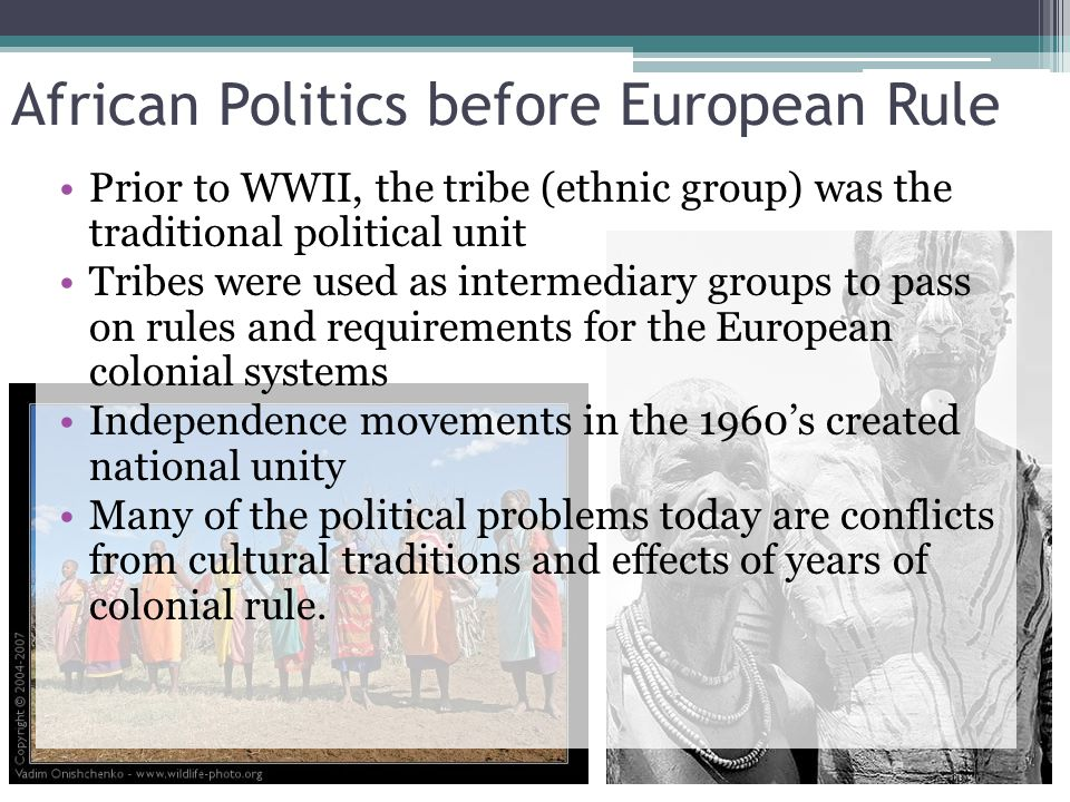 African Politics before European Rule