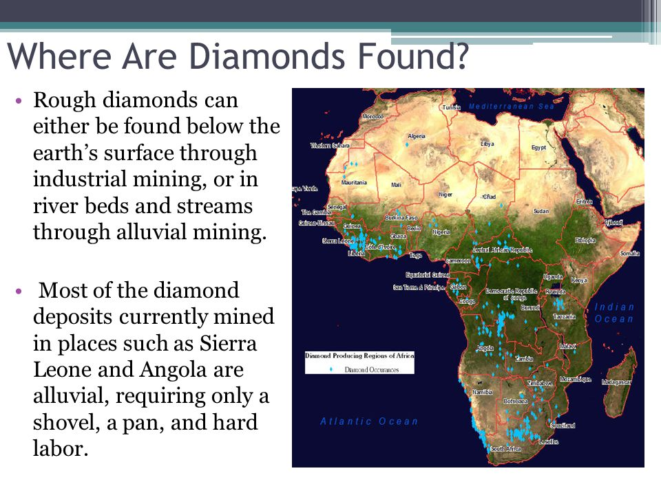 Where Are Diamonds Found
