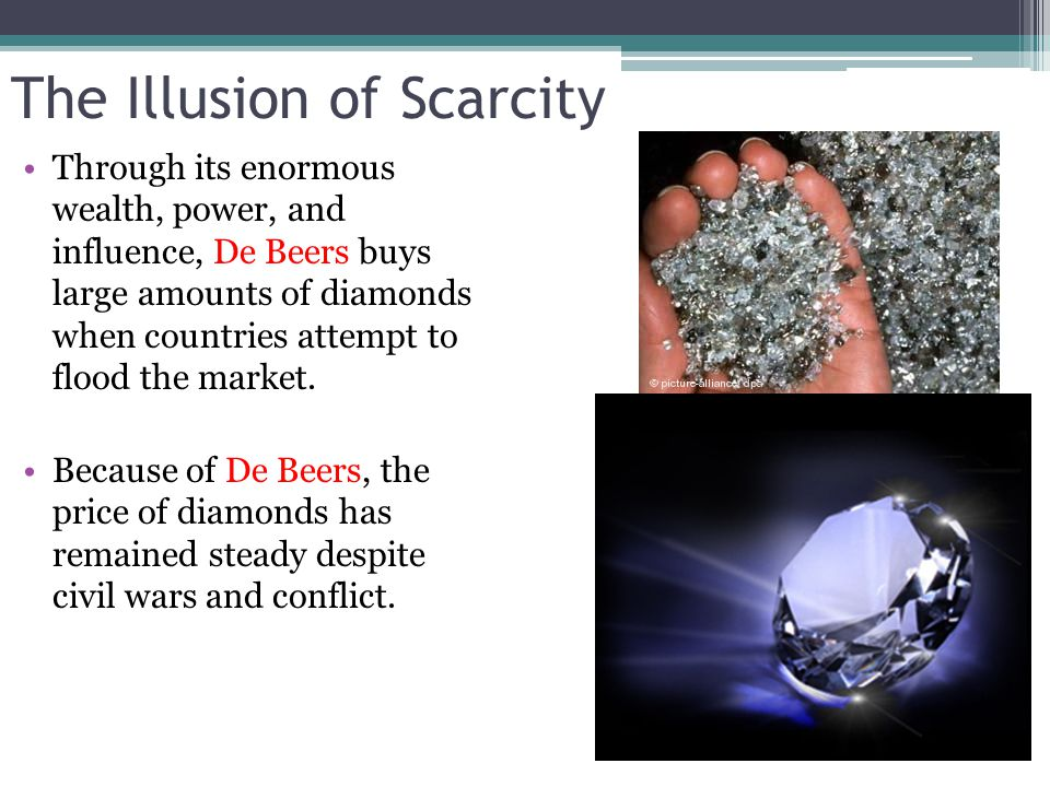 The Illusion of Scarcity