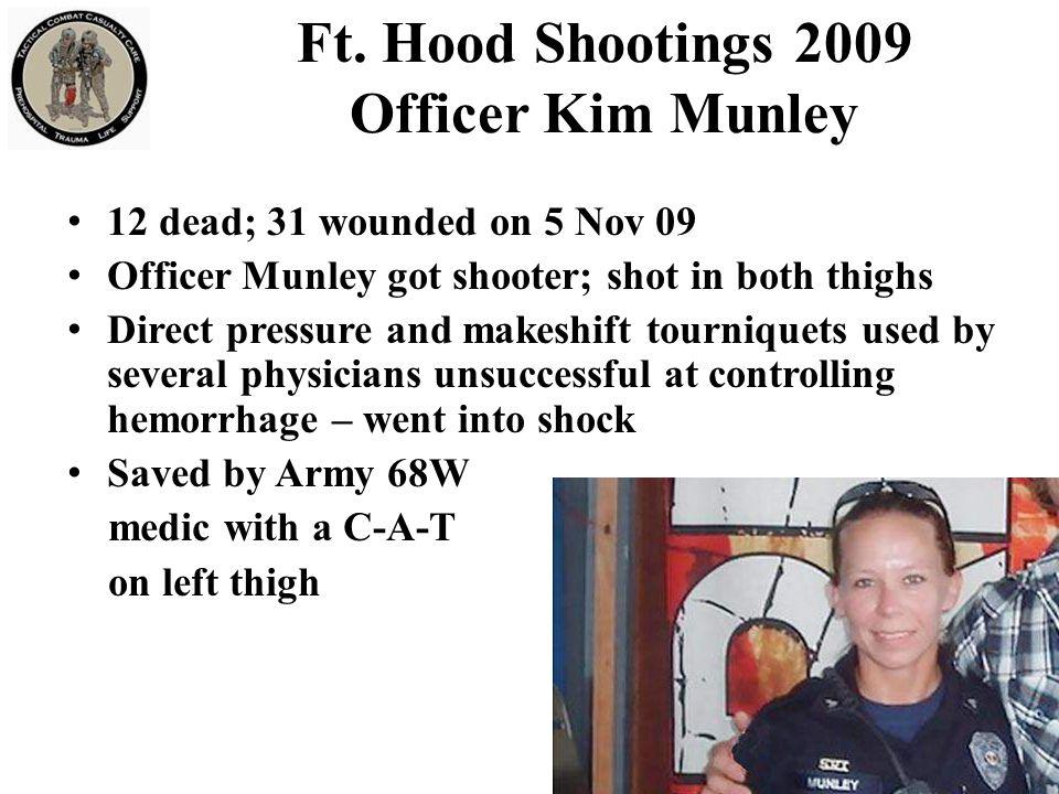 Ft. Hood Shootings 2009 Officer Kim Munley