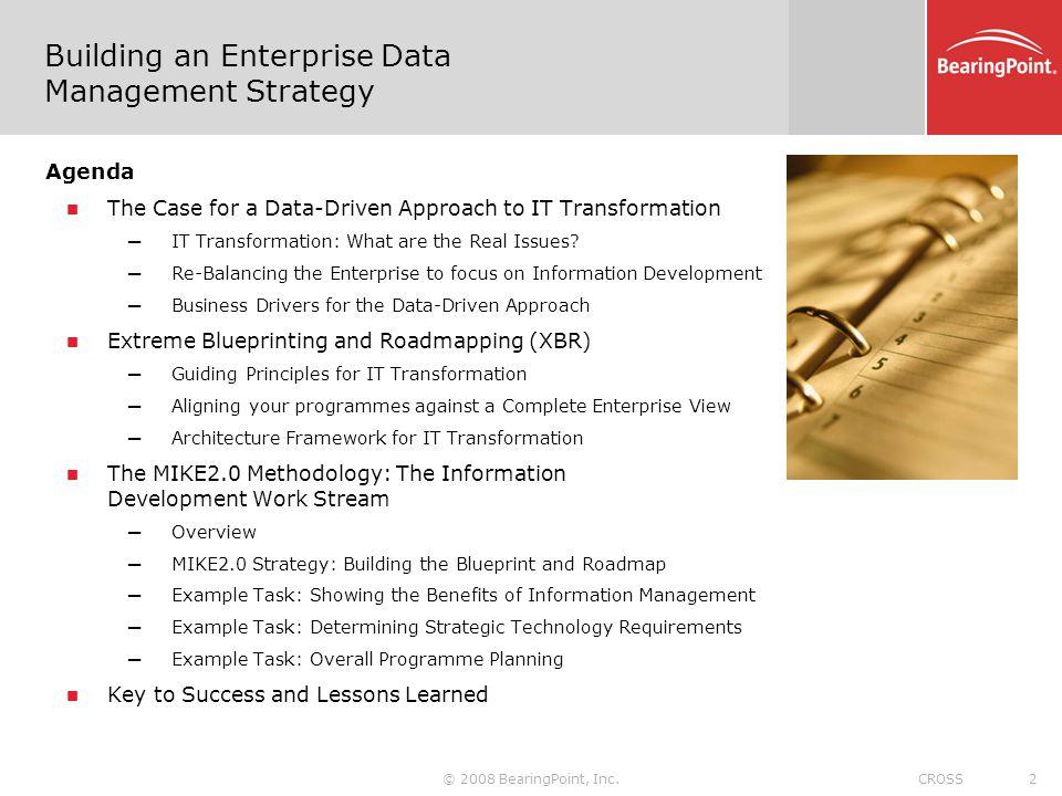 Building an Enterprise Data Management Strategy
