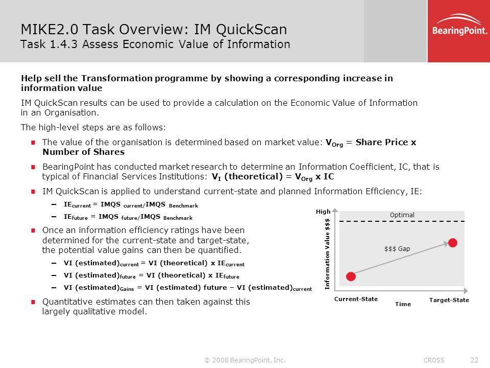 MIKE2. 0 Task Overview: IM QuickScan Task 1. 4
