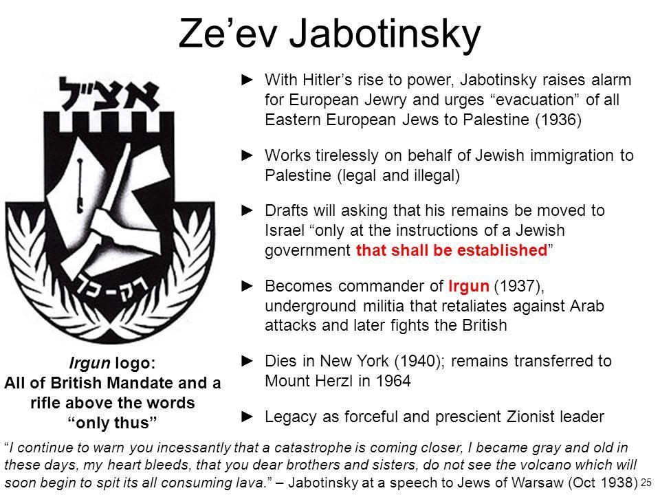 Ze'ev Jabotinsky