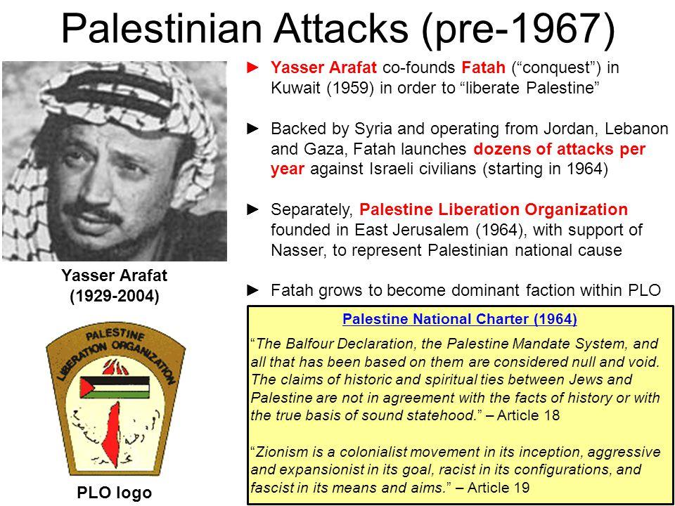 Palestinian Attacks (pre-1967)