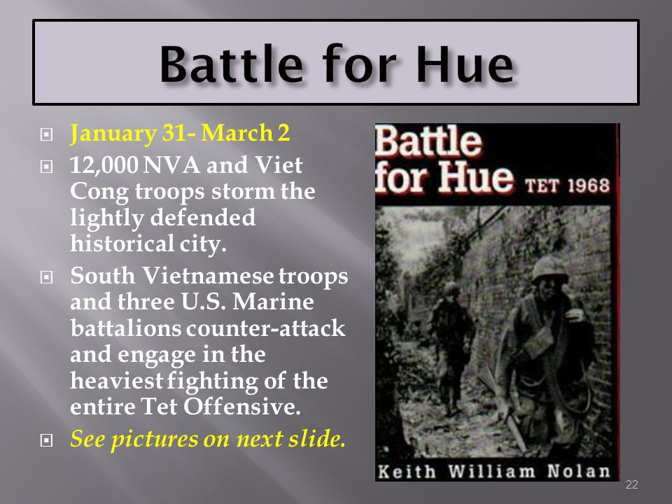 Battle for Hue January 31- March 2