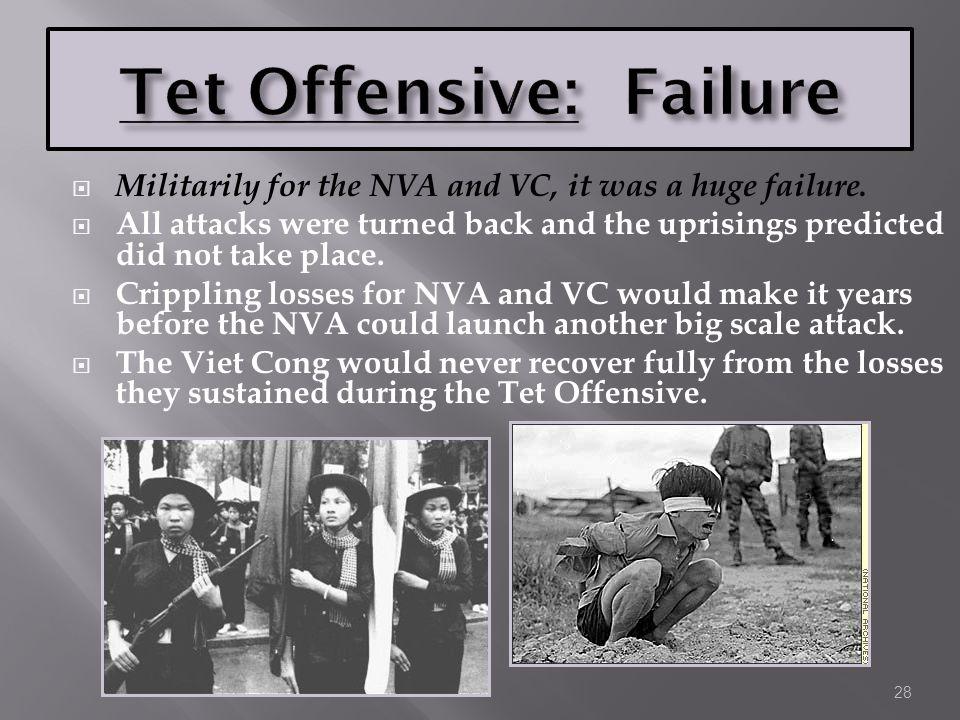 Tet Offensive: Failure