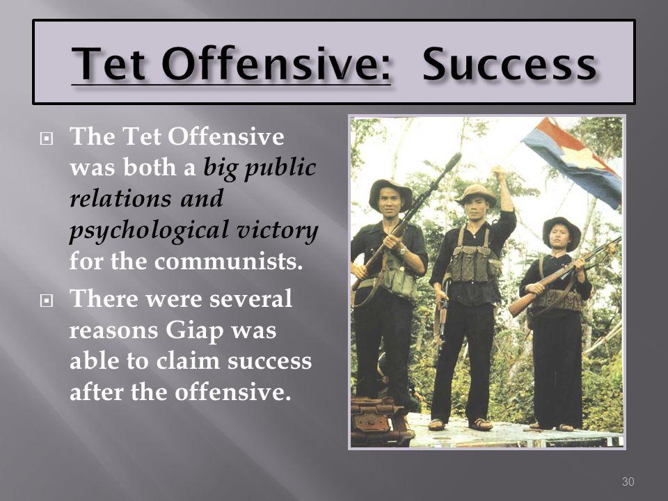 Tet Offensive: Success