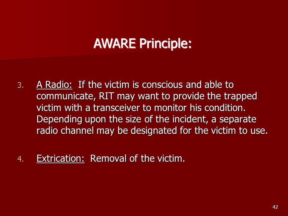 AWARE Principle: