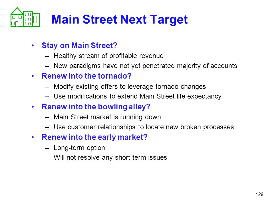 Main Street Next Target