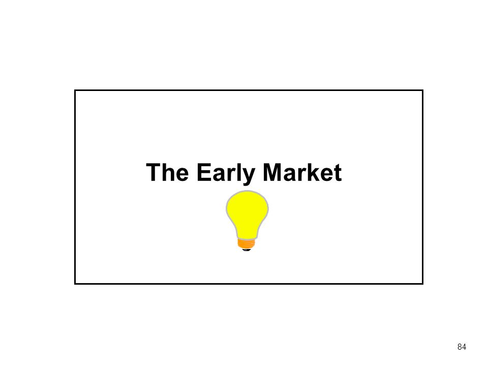 The Early Market