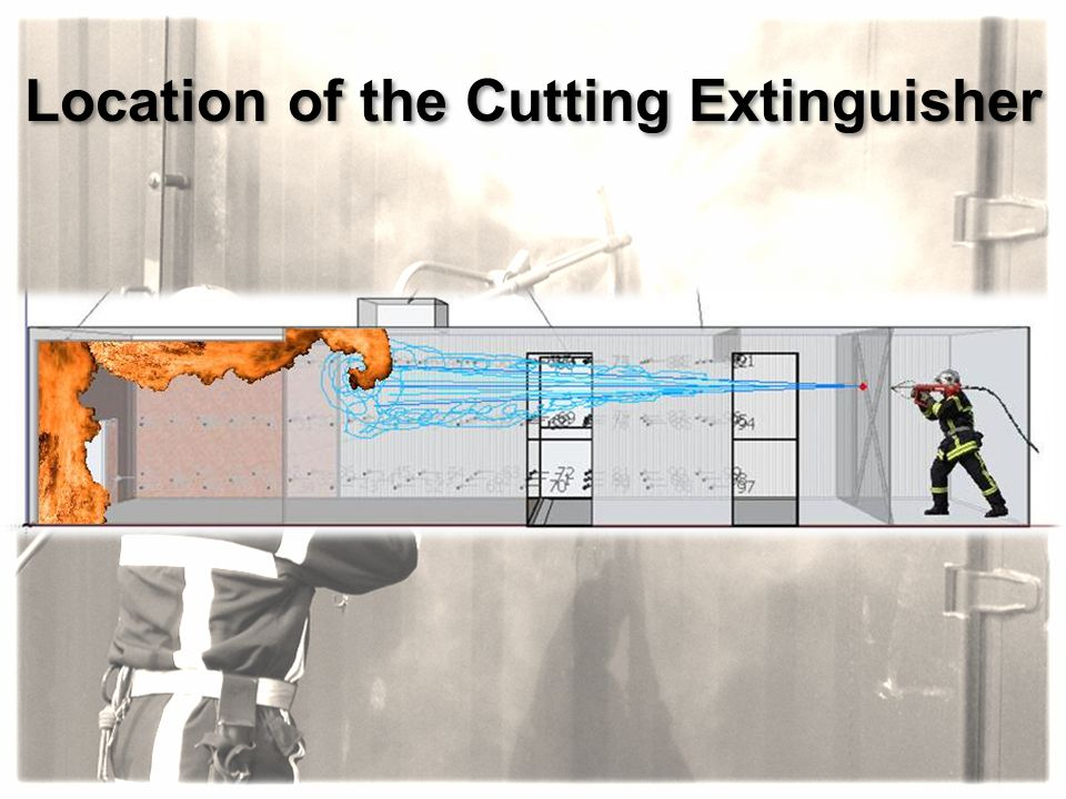 Location of the Cutting Extinguisher