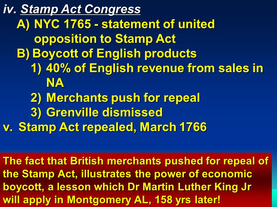 NYC 1765 - statement of united opposition to Stamp Act