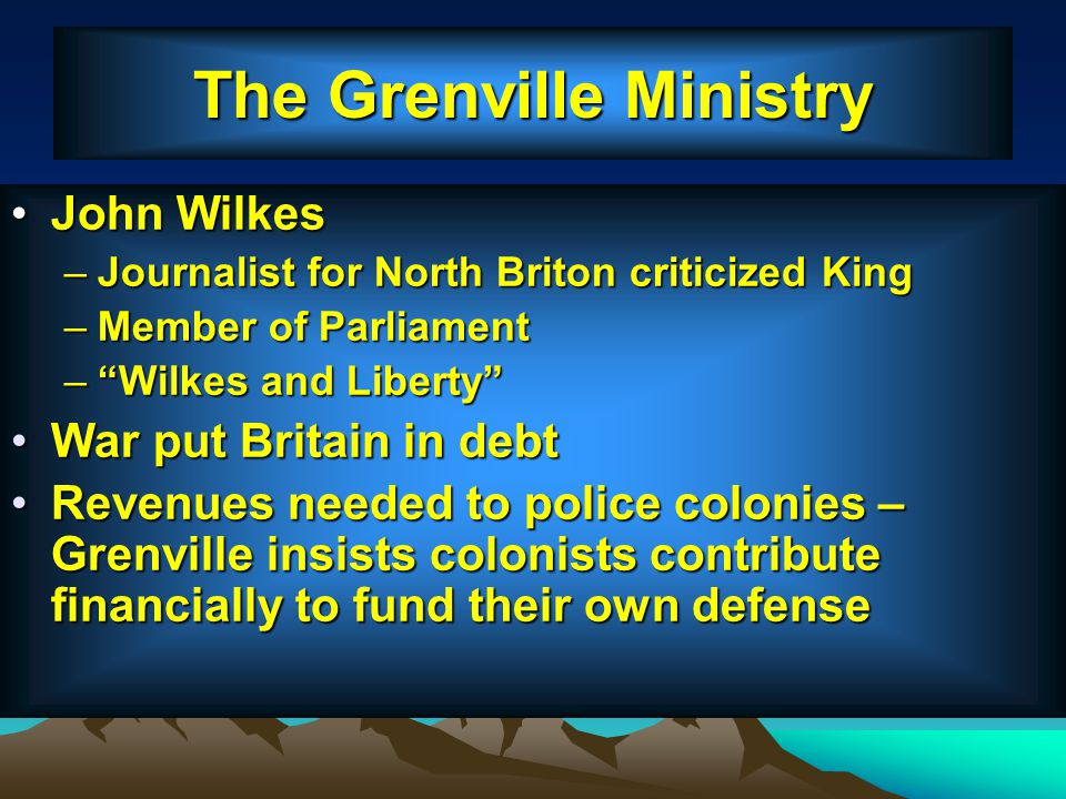 The Grenville Ministry