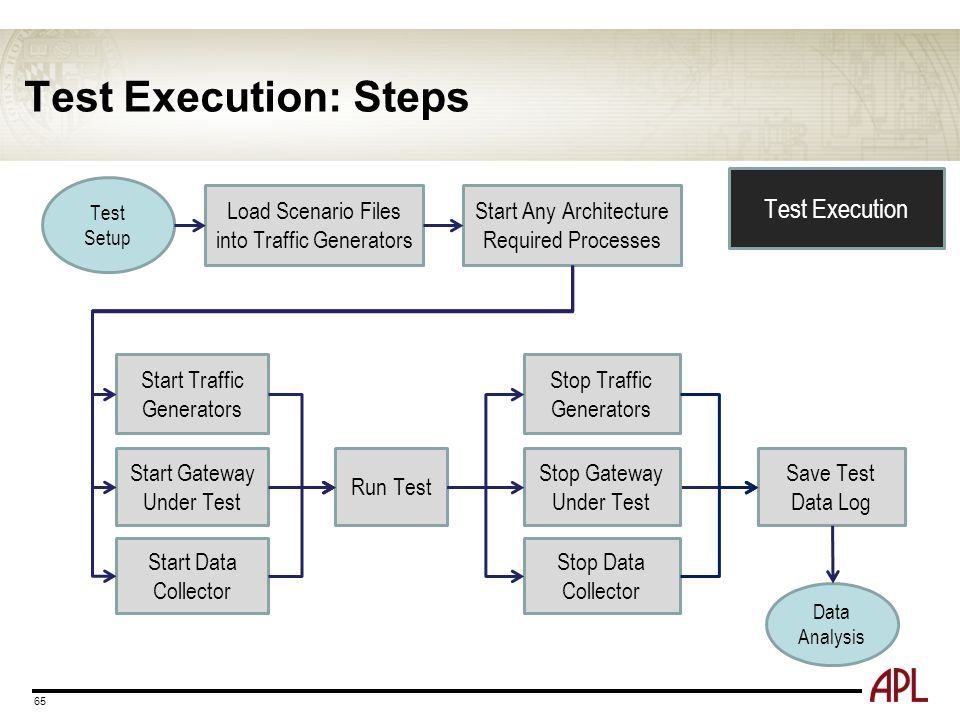 Test Execution: Steps Test Execution