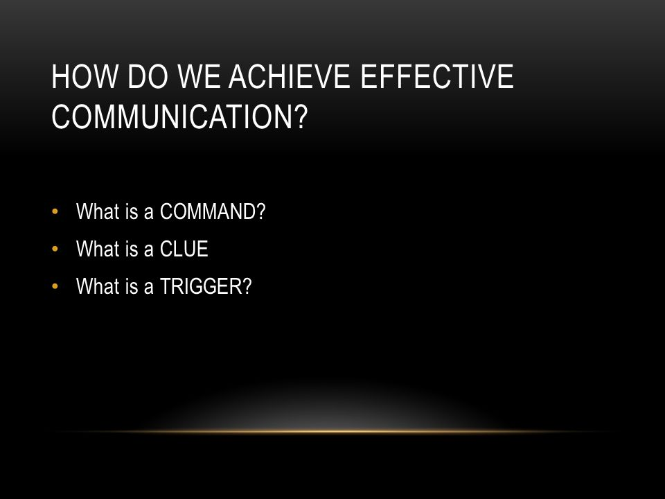 How do we Achieve Effective Communication