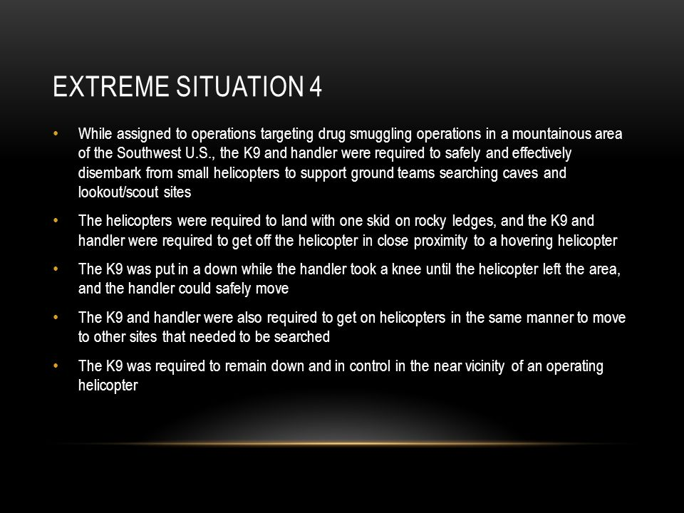 Extreme Situation 4