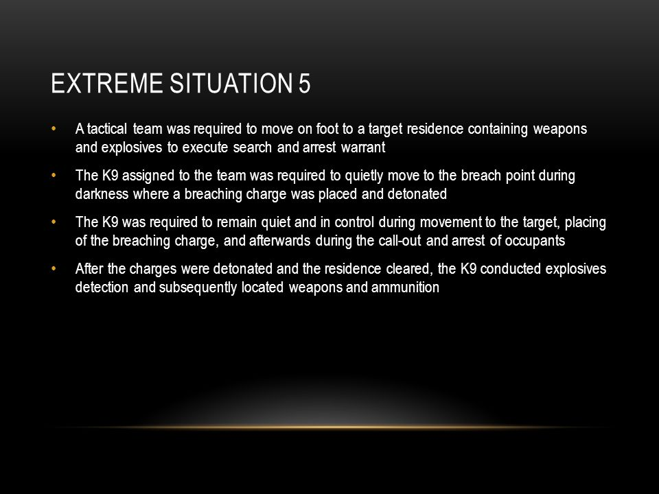 Extreme Situation 5
