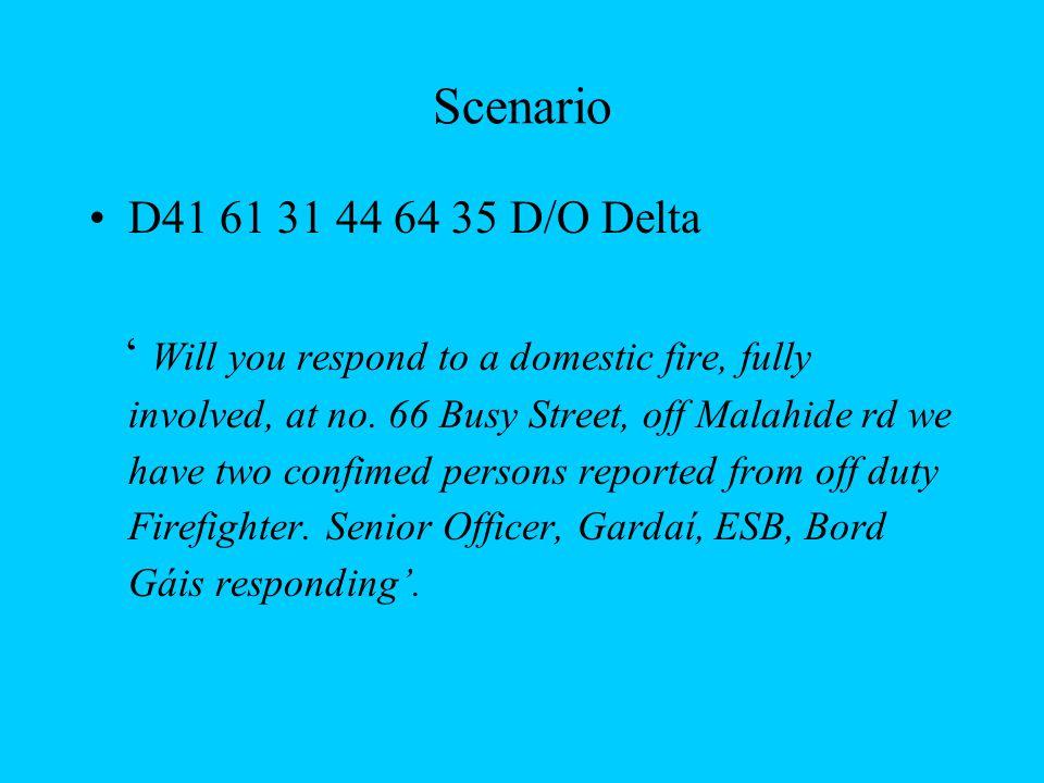 Scenario D41 61 31 44 64 35 D/O Delta.