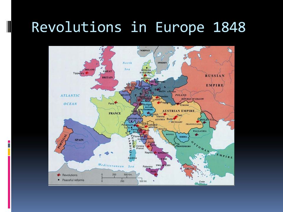 Revolutions in Europe 1848