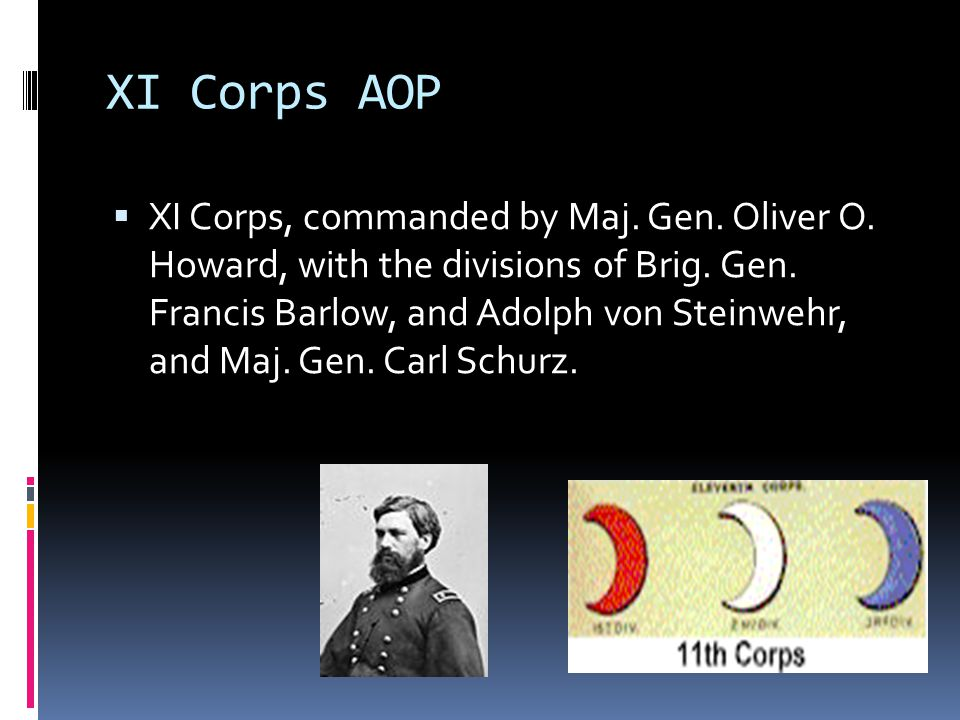 XI Corps AOP