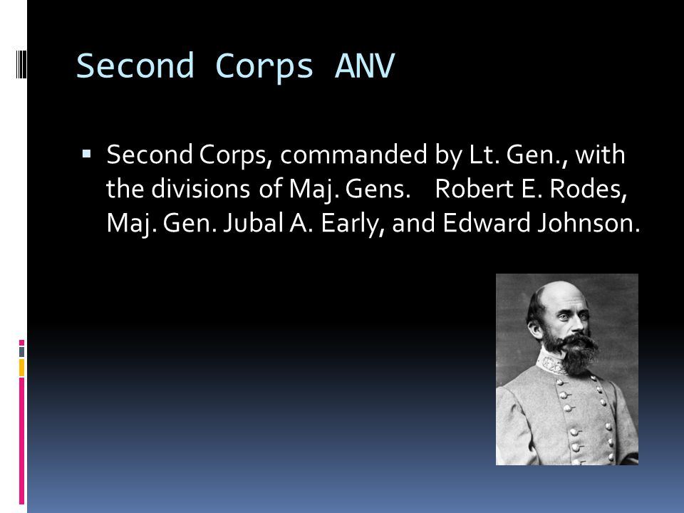 Second Corps ANV