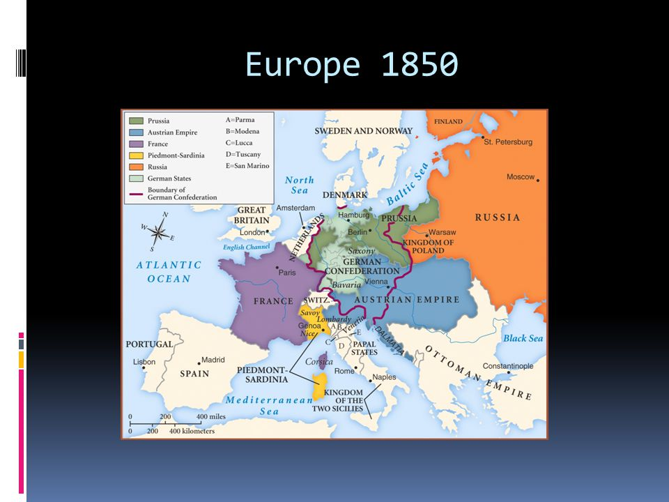 Europe 1850