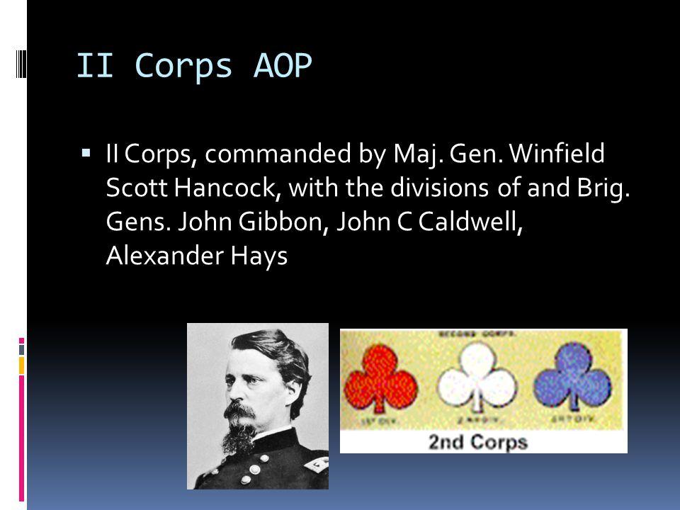 II Corps AOP