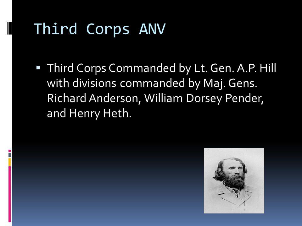 Third Corps ANV