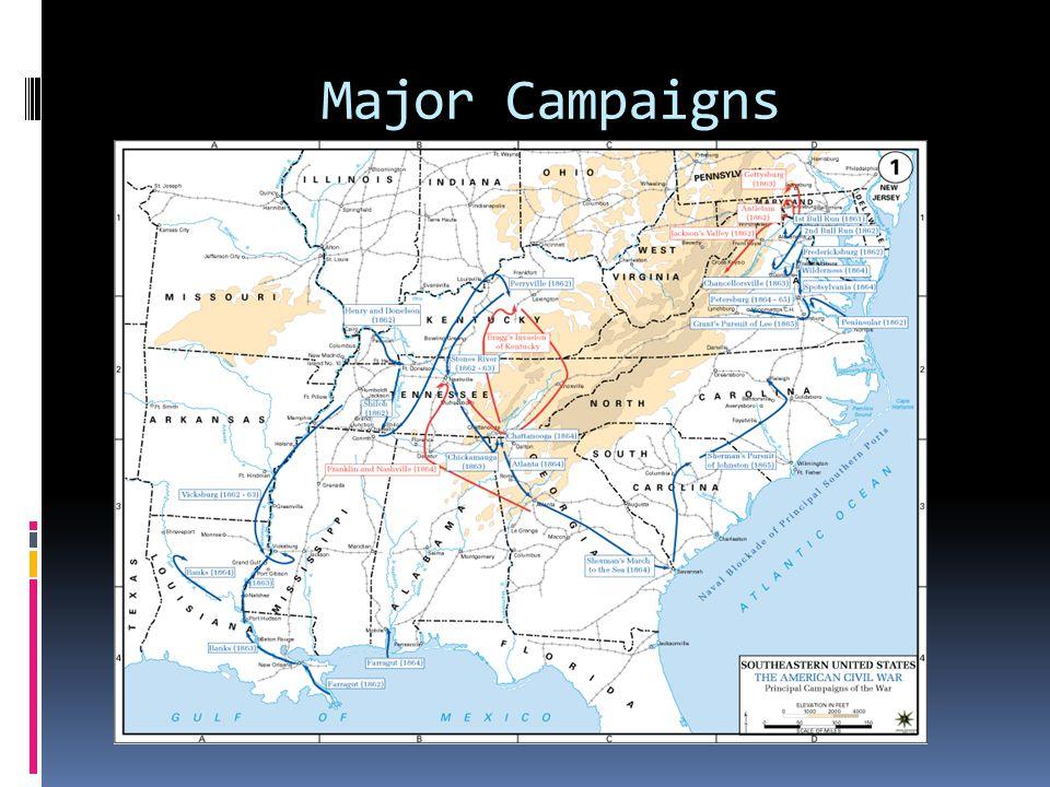 Major Campaigns