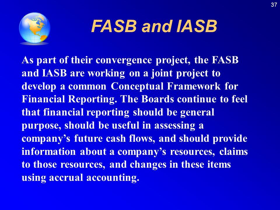 37 FASB and IASB.