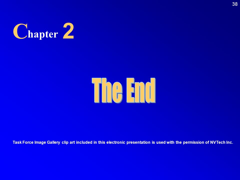 C 2. hapter. The End.