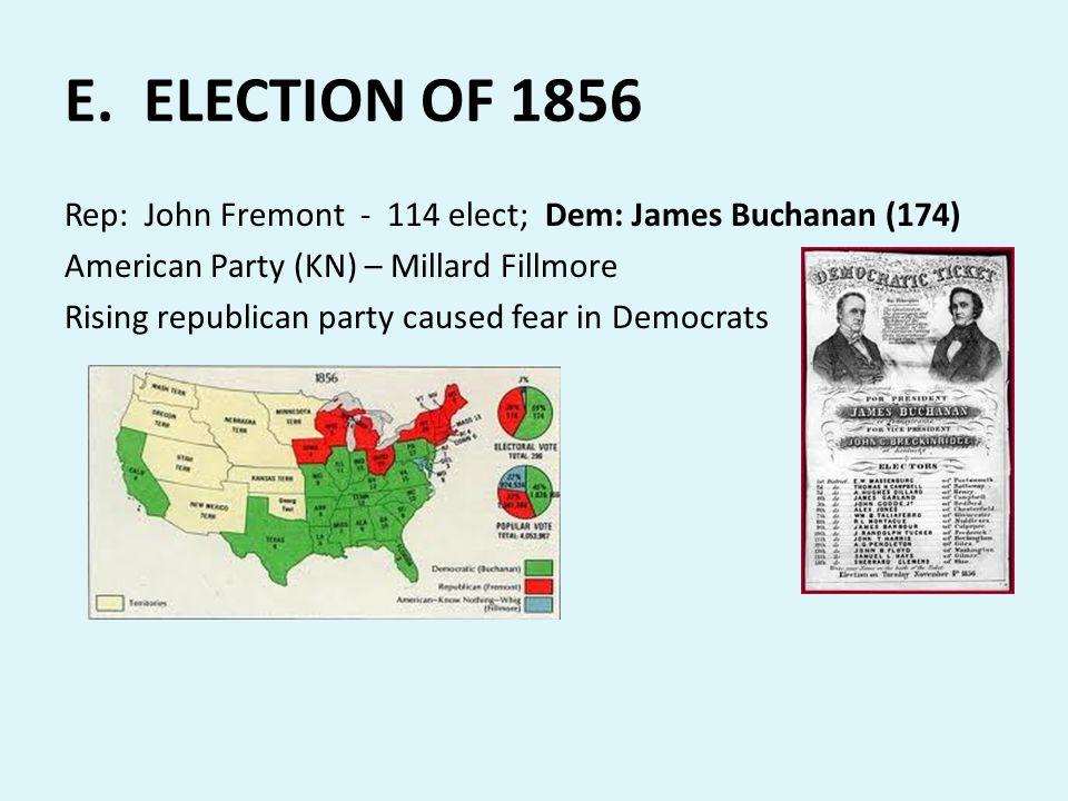 E. ELECTION OF 1856
