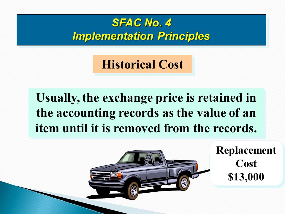 SFAC No. 4 Implementation Principles