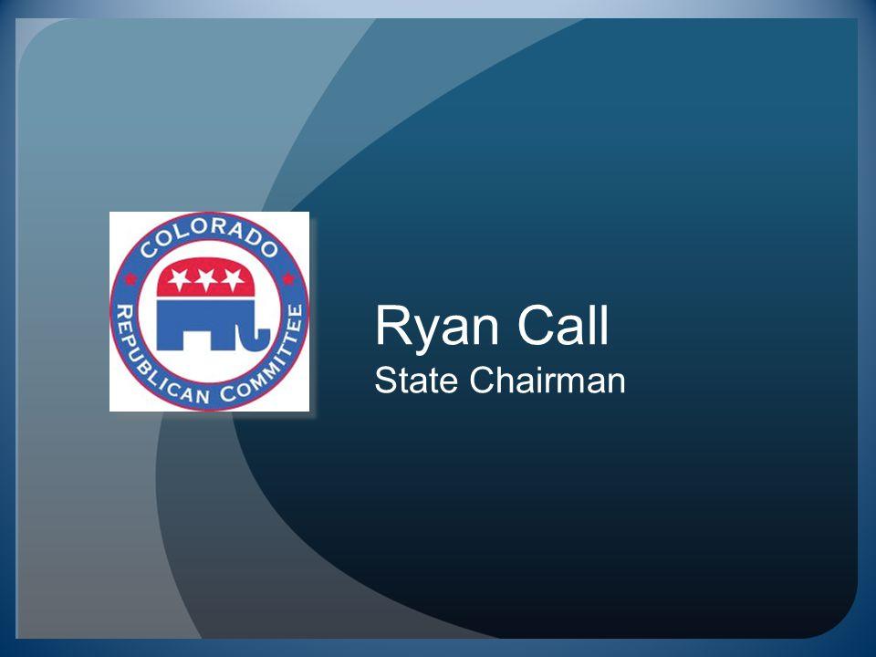 Ryan Call State Chairman