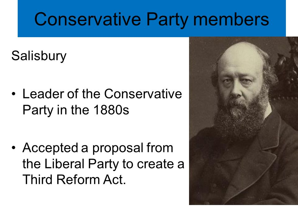 Conservative Party members