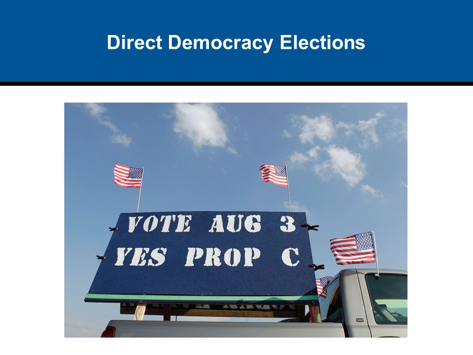 Direct Democracy Elections
