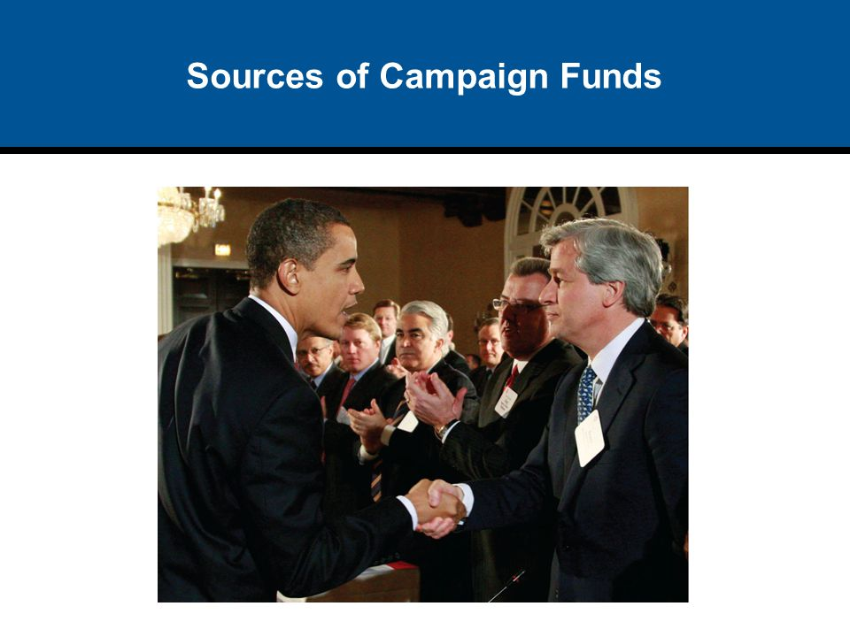 Sources of Campaign Funds
