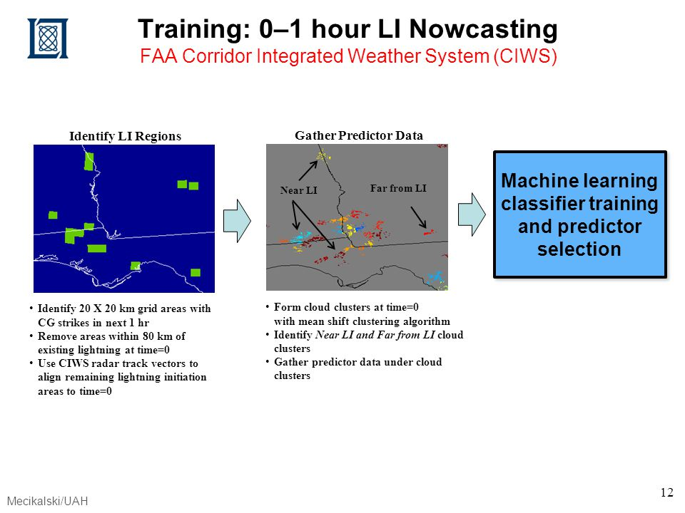 Machine learning classifier training and predictor selection