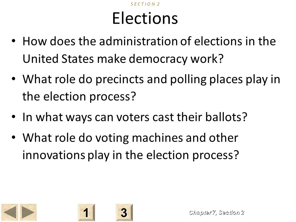 In what ways can voters cast their ballots
