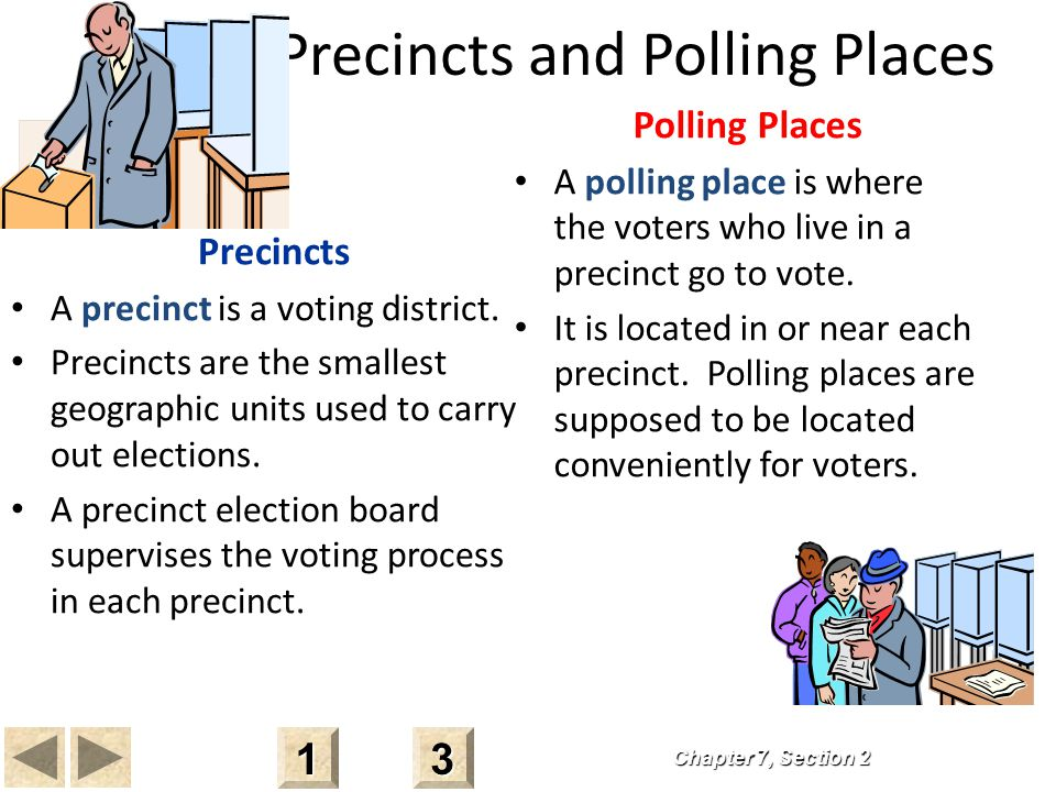 Precincts and Polling Places