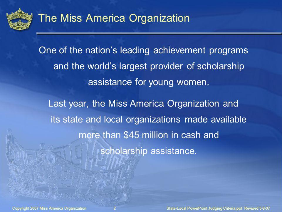 The Miss America Organization