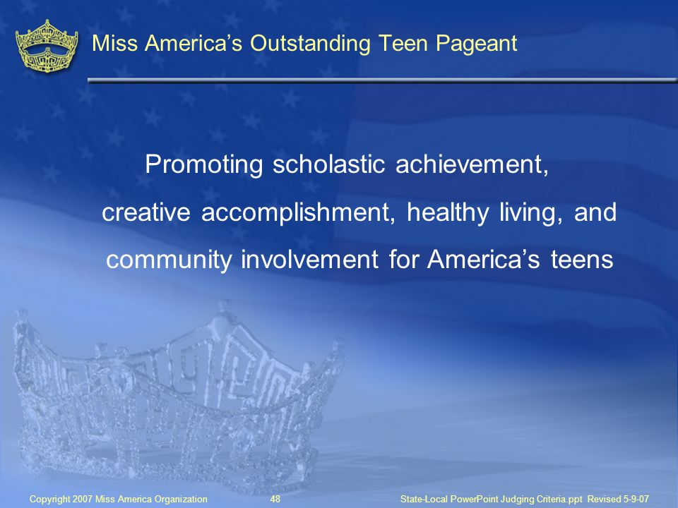 Miss America's Outstanding Teen Pageant