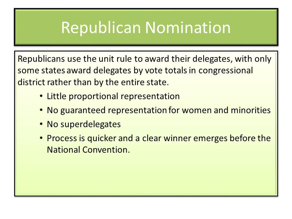 Republican Nomination