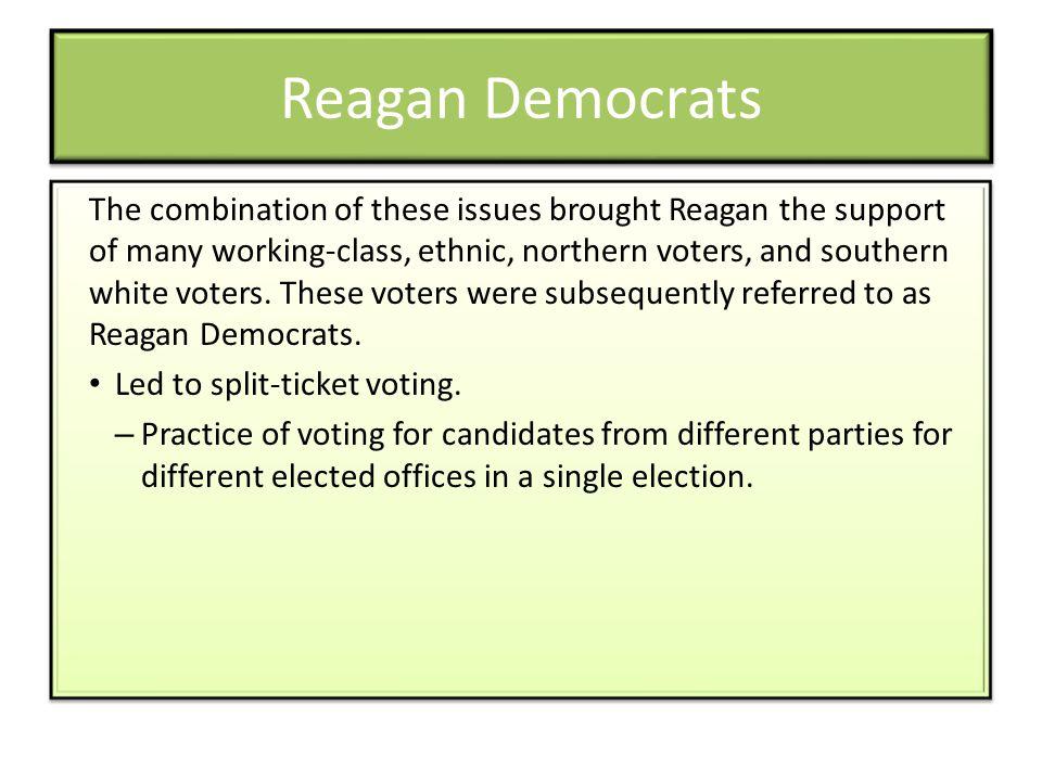 Reagan Democrats