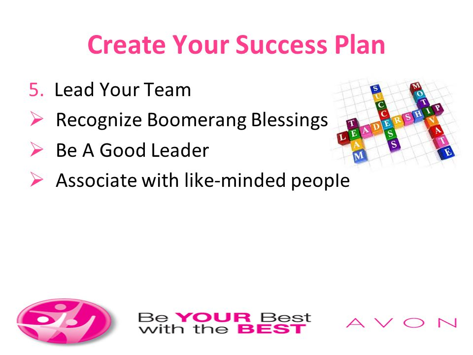 Create Your Success Plan