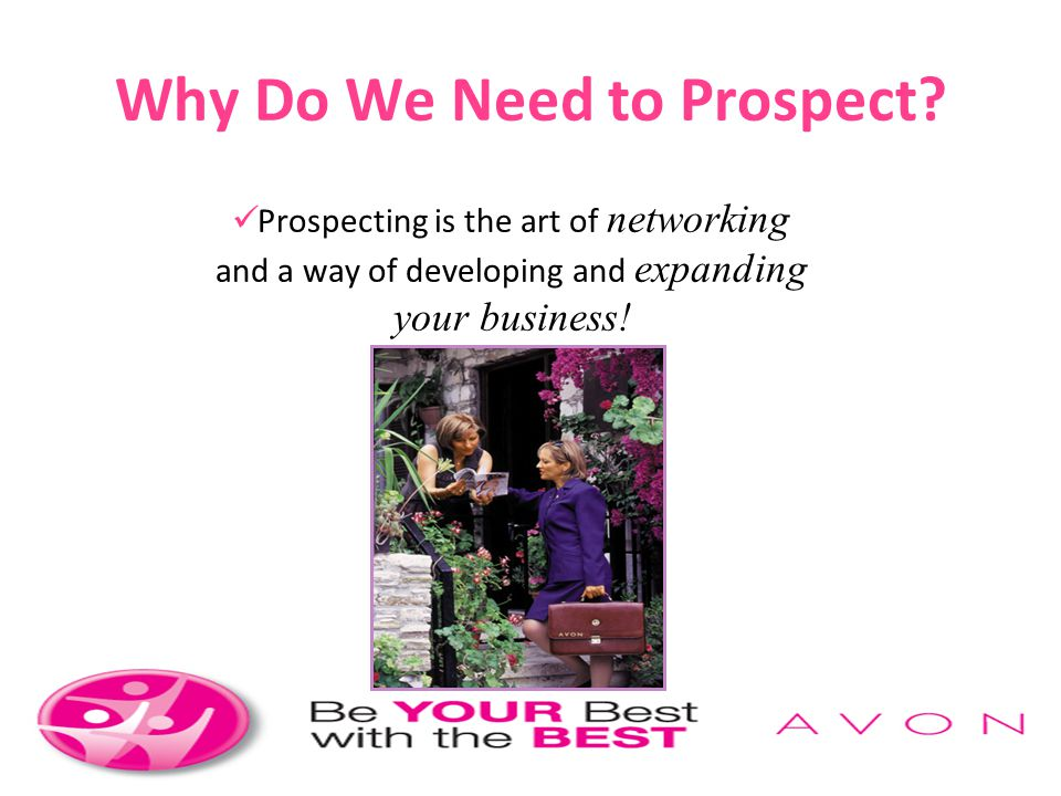 Why Do We Need to Prospect