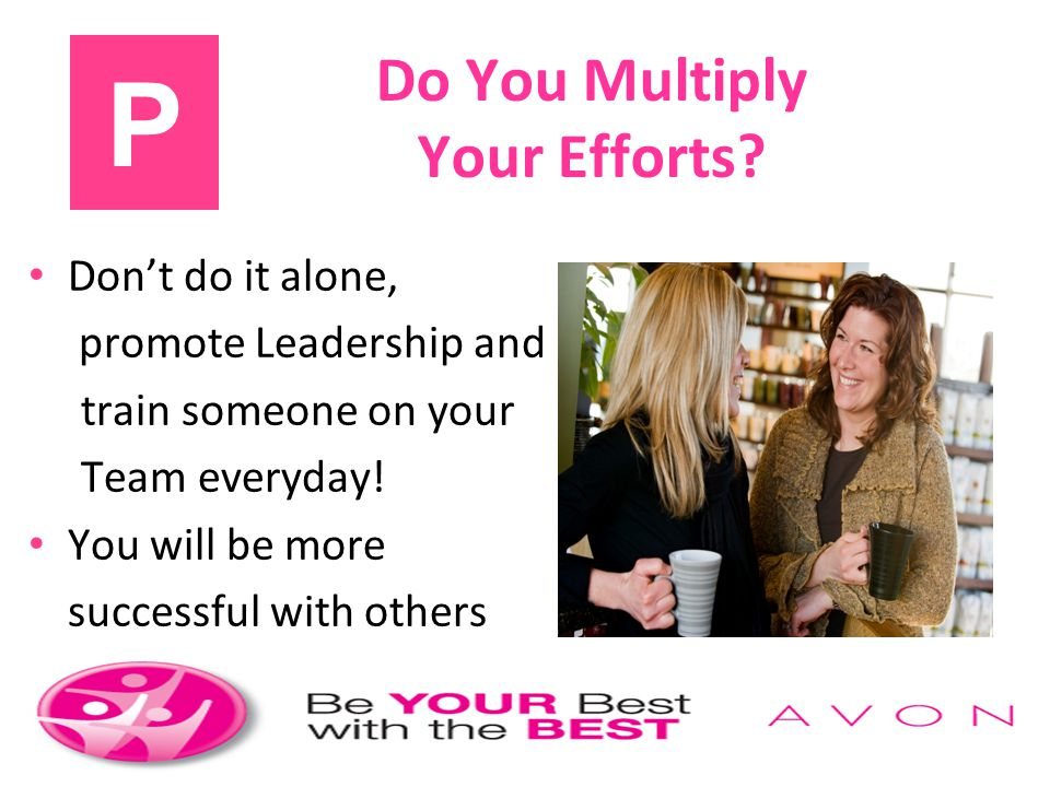 Do You Multiply Your Efforts