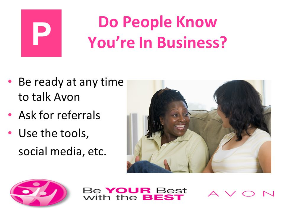 Do People Know You're In Business