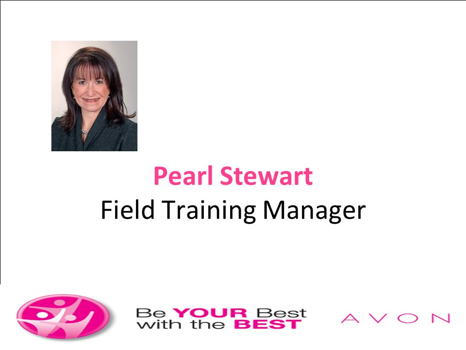 Pearl Stewart Field Training Manager