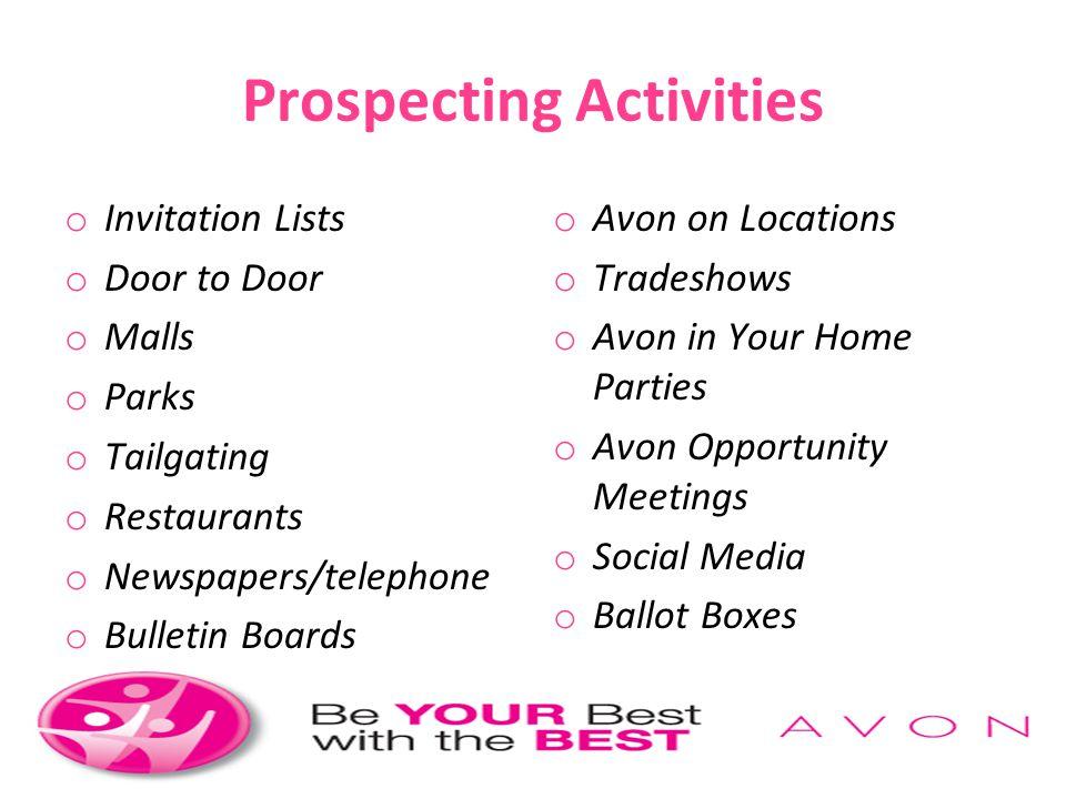 Prospecting Activities